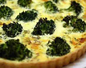 Quiche with Broccoli recipe