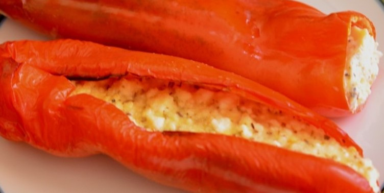 Stuffed Peppers with Feta Cheese Recipe
