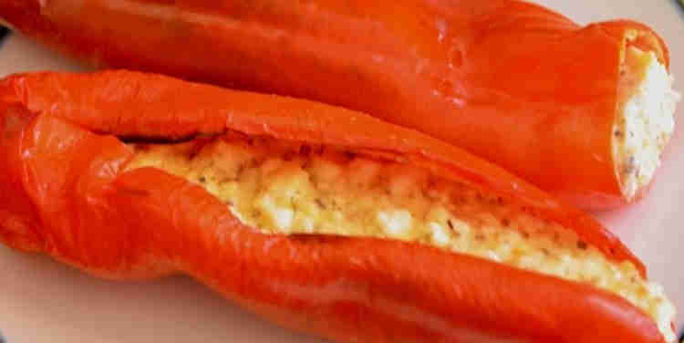 Stuffed Peppers with Feta Cheese