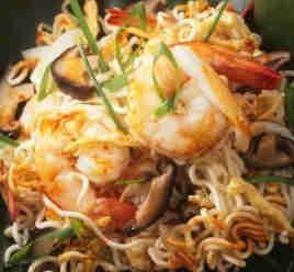 Bakmi with Seafood Recipe