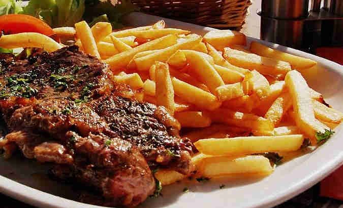 Recipe for Steak with Fries