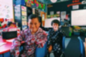 kids in pyjamas from jammies in june