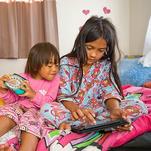 Middlemore Foundation Jammies in June kids reading