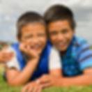 Middlemore Foundation children smiling in field