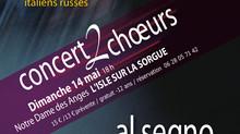 2 choeurs pour 1 concert