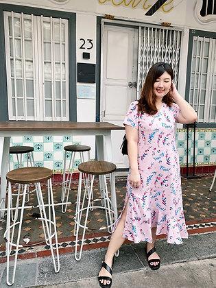 Emerie Dress in Pink