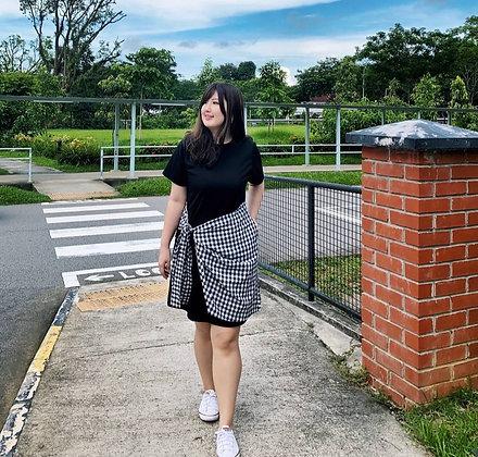Yeona Checkered Dress