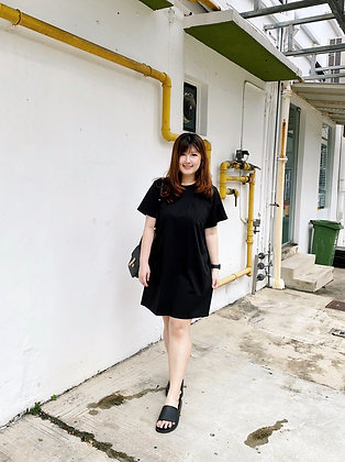 Unnie Oversized T-Shirt Dress