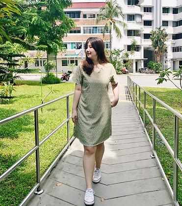 Kreda Dress in Mint