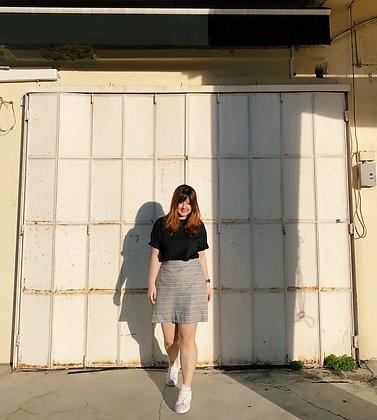 Lenca Plaid Mini Skirt