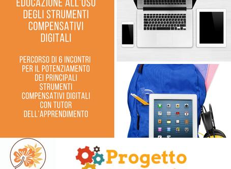 Educare all'uso di strumenti compensativi digitali