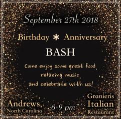 Birthday Show Poster