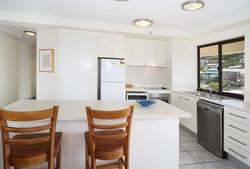 Fully sized kitchen