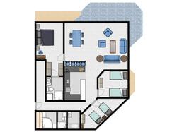 Coolum Caprice Floor Plan Column E