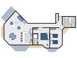 Coolum Caprice Floor Plan Column A