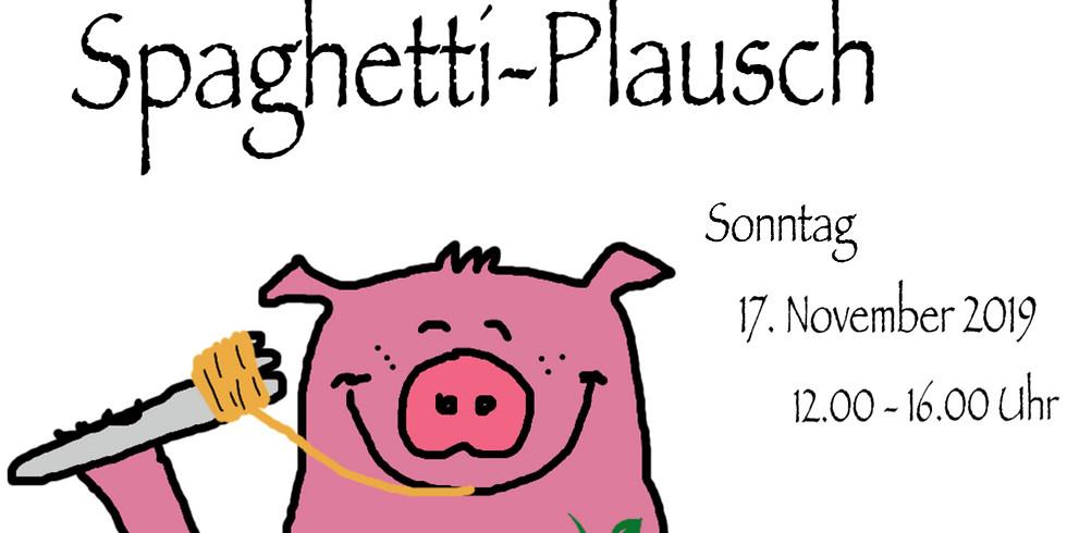 Spaghetti-Plausch Sonntag 17. November 2019