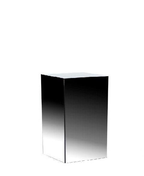 Black Gloss Acrylic Plinth - 0.6m