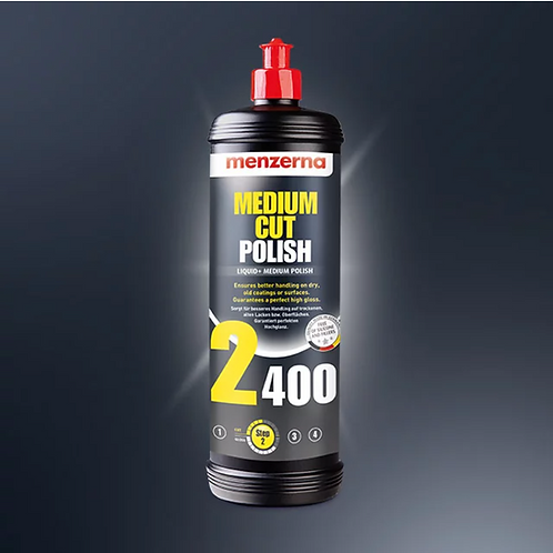 MEDIUM CUT POLISH 2400 (250ml / 1L)