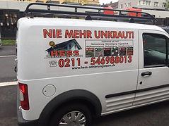 Autobeschriftung Köln