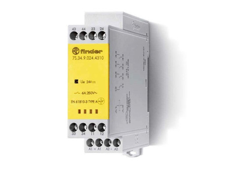 Finder 7S Series - Safety Expansion Relays