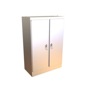 Hammond - Type 4X Stainless Steel Two Door Freestanding Enclosure