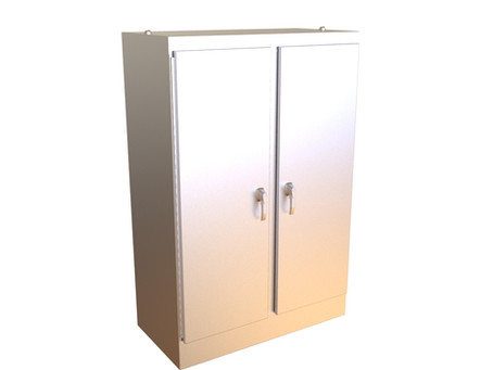 Hammond - Type 4X Stainless Steel Two Door Freestanding Enclosure