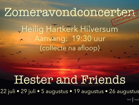 Succesvolle zomeravond concerten reeks