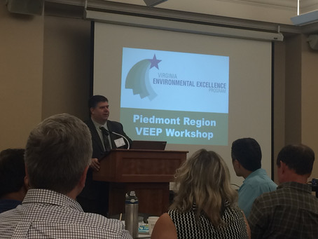 DEQ's Virginia Environmental Excellence Program (VEEP) and Workshops
