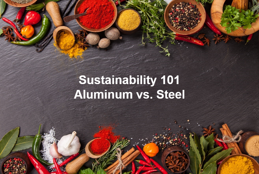 Sustainability 101 - Aluminum vs Steel