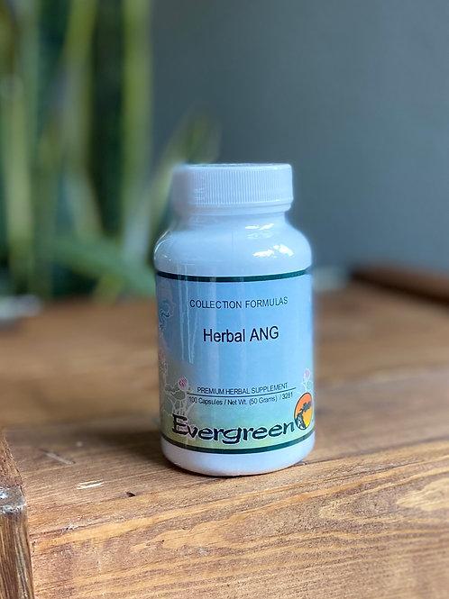 Evergreen Herbs Herbal ANG - 100 caps