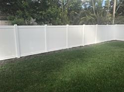 Protek-Fence PVC Vinyl Privacy Fence Fort Lauderdale Florida