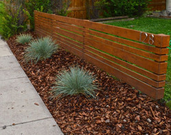IPE Horizontal fencing Oakland park