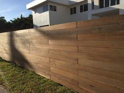 IPE Fence Miami Beach