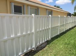 Protek-Fence PVC Shadow-box Privacy Pembroke Pines Florida