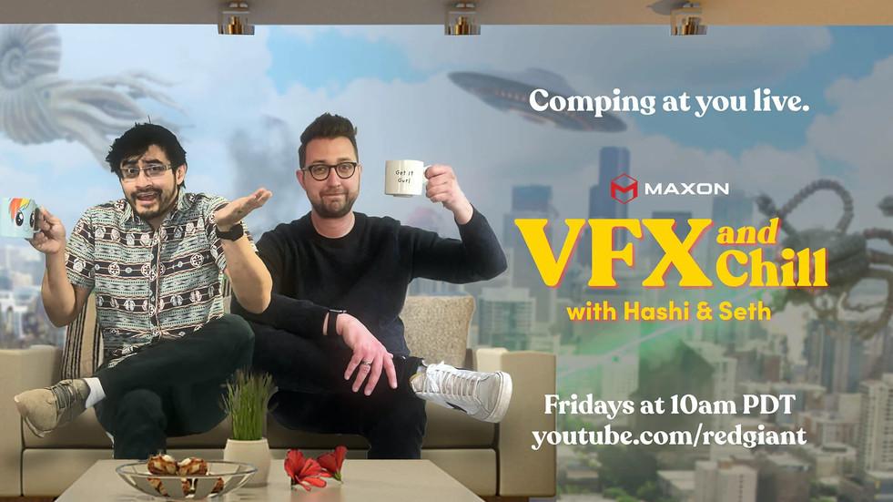 VFX에 초점을 맞춘 주간 라이브 토크쇼 출시