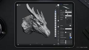 [Maxon]모바일 3D 스컬프팅 어플리케이션 인수 발표