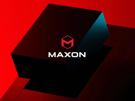 Maxon 새로운 기업 이미지 통합 발표
