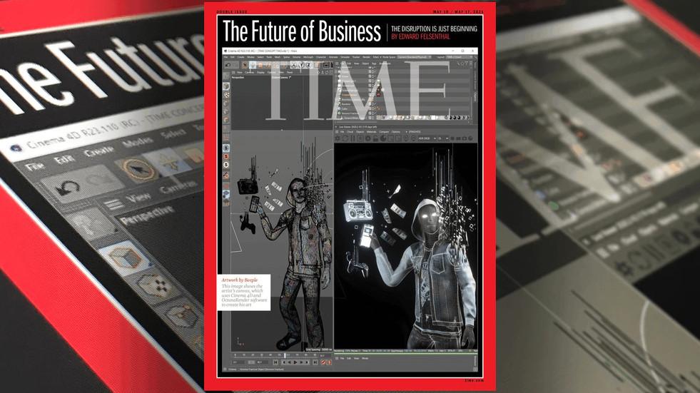 TIME지 표지에 Cinema 4D가 등장했습니다!