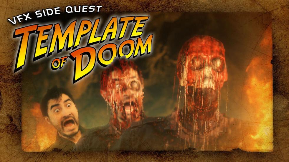 """새로운 """"Template of Doom"""" 얼굴이 녹는 VFX 튜토리얼"""