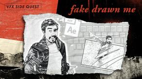 "[Red Giant] ""Fake Drawed Me"" - 새로운 ""Take On Me"" 뮤직비디오 VFX 튜토리얼"