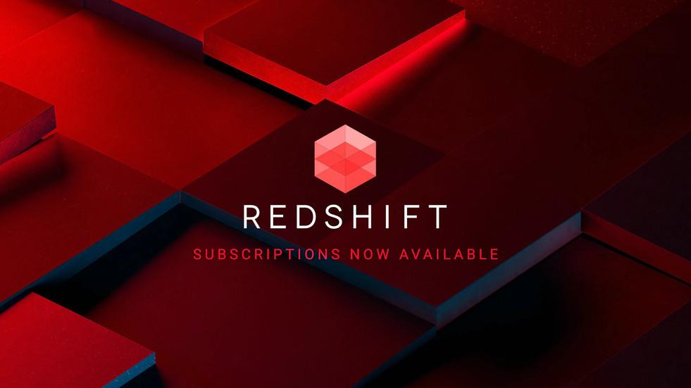 [Redshift] 지금 구독형 라이선스 구매가 가능합니다.