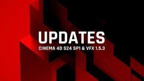 [Maxon] Cinema 4D S24 SP1&VFX Suit 1.5.3 업데이트