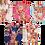 Thumbnail: Penelope Floral Satin Bridesmaid Robes