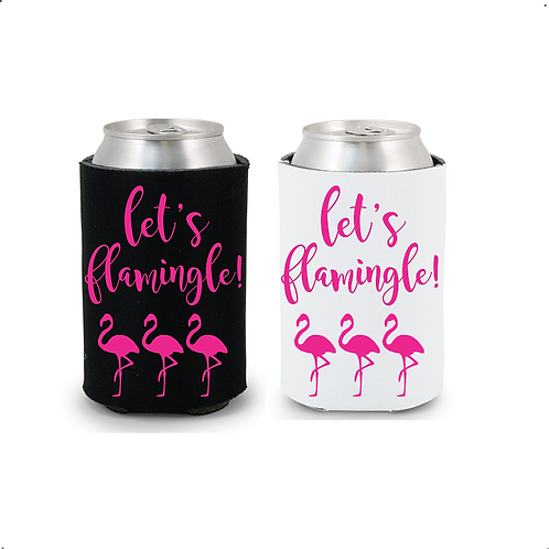 Let's Flamingle! Bachelorette Drink Coolers