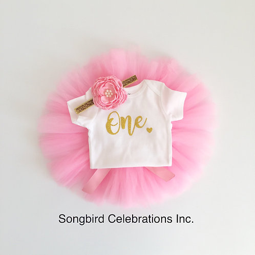First Birthday Tutu Outfit