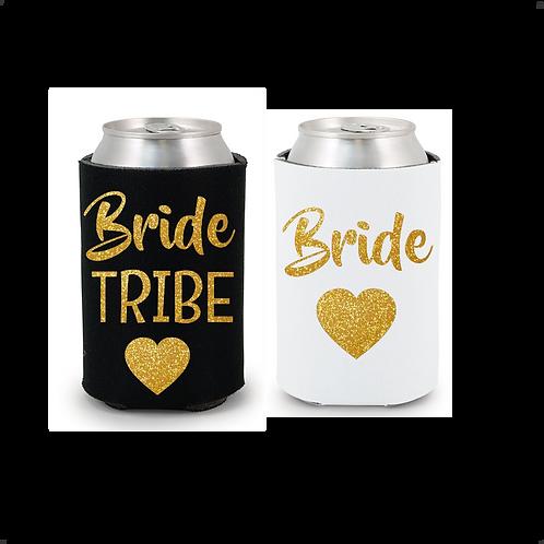 Bride/Bride Tribe Bachelorette Drink Coolers