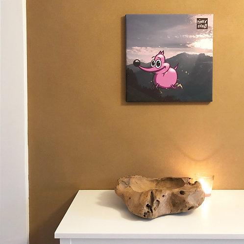 """Alp-Pinky"" canvas"