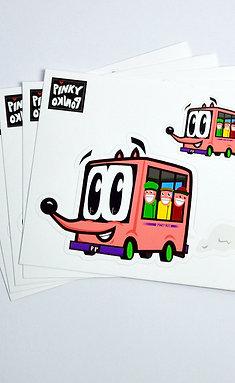 Pinky Bus