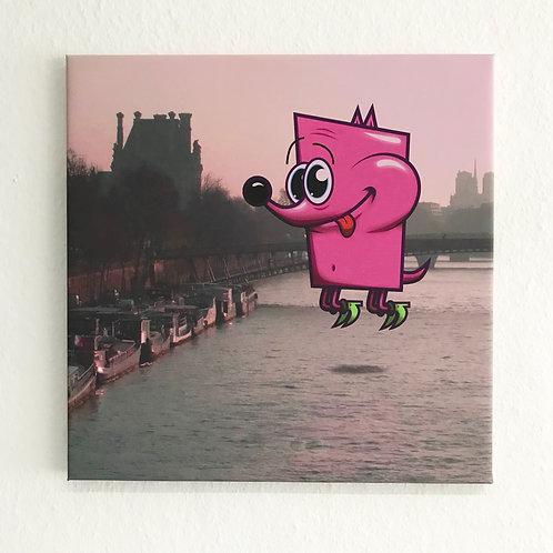 Floating P in Paris