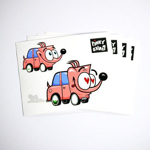 Pinky Car